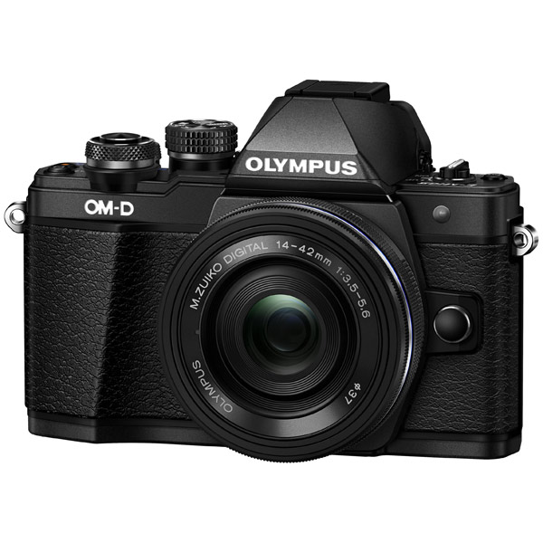Фотоаппарат системный Olympus OM-D E-M10 Mark II Pancake Zoom Kit 14-42EZ Black фотоаппарат olympus om d e m5 mark ii kit 14 42 mm ez silver black