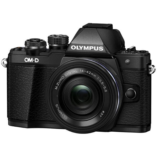 Фотоаппарат системный Olympus OM-D E-M10 Mark II Pancake Zoom Kit 14-42EZ Black