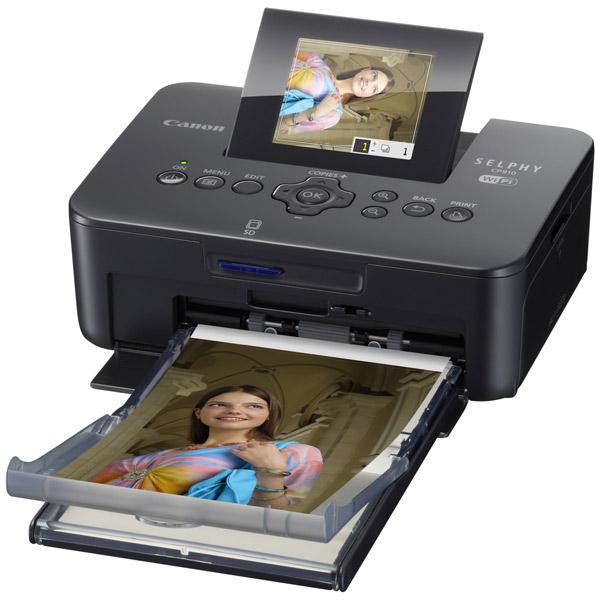 Компактный фотопринтер Canon Selphy CP910 Black