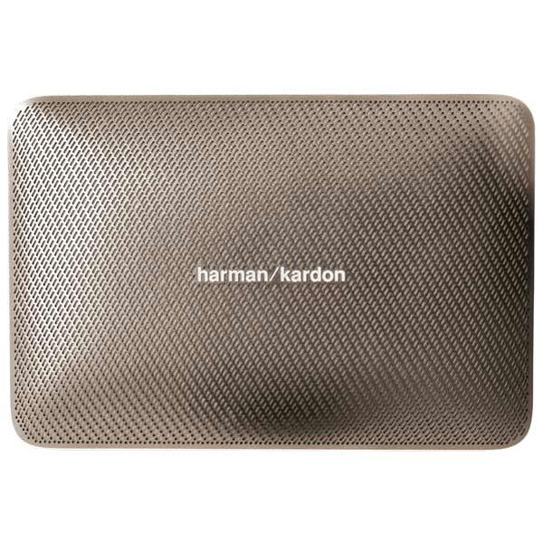 Беспроводная акустика Harman/KardonБеспроводная акустика<br>Мощность фронтальных АС: 2 x 8 Вт,<br>Тип аккумулятора: Li-Polymer,<br>Вид гарантии: по чеку,<br>Цвет: золотистый,<br>Встроенный модуль Bluetooth: Да,<br>Вход 3.5 мм аудио: 1,<br>Материал корпуса: пластик,<br>Громкая связь Bluetooth: Да,<br>Чехол: доп.опция,<br>Порт USB: 1 х тип А (фронт)/1 x microUSB,<br>Кабель USB: в комплекте,<br>Беспроводное воспроизведение: через Bluetooth,<br>Работа от аккумулятора: до 8 часов,<br>Блок питания: в комплекте,<br>Питание от сети 220 В: Да,<br>Гарантия: 1 год,<br>Страна: КНР<br>