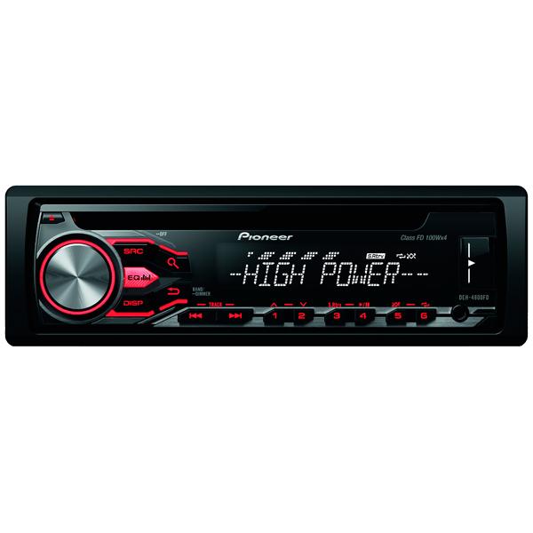 Автомобильная магнитола с CD MP3 Pioneer DEH-4800FD