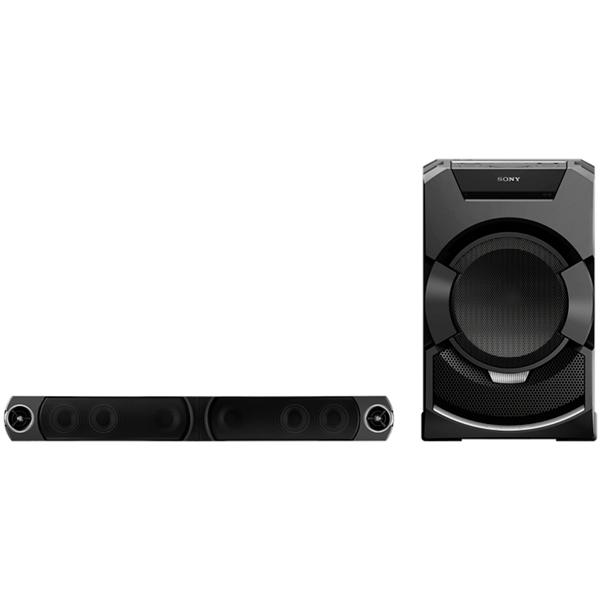 Саундбар с DVD SonyСаундбары с DVD<br>Вход оптический (Toslink): 1,<br>Страна: Малайзия,<br>Беспроводное воспроизведение музыки: через Bluetooth,<br>Функция Караоке: Да,<br>Активный сабвуфер: Да,<br>Материал корпуса сабвуфера: MDF/пластик,<br>Мощность фронтальных АС: 2 x 600 Вт,<br>Мощность сабвуфера: 1200 Вт,<br>Воспроизведение DVD видео: Да,<br>Тип кабеля в комплекте 1: Toslink оптический,<br>Крепление для установки на стене: доп.опция,<br>Размер сабвуфера (В*Ш*Г): 72.8*45*50.3 см,<br>Технология NFC: Да,<br>Тип использования: настенное<br>