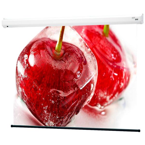 Экран для видеопроектора DraperЭкраны для видеопроекторов<br>Длина рамы экрана (см): 258,<br>Гарантия: 1 год,<br>Тип экрана: с электроприводом,<br>Полезная площадь экрана: 132x234 см (106),<br>Страна: КНР,<br>Размер полотна экрана Д x В (см): 162x244,<br>Тип полотна: Matte White,<br>Формат экрана: 9:16,<br>Вес Нетто / Брутто (кг): 16,<br>Корпус Д x В x Г (см): 258*172*8 см,<br>Вид гарантии: по чеку<br>