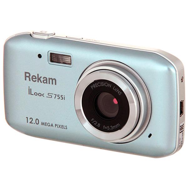 Фотоаппарат компактный Rekam iLook S755i Metallic Gray