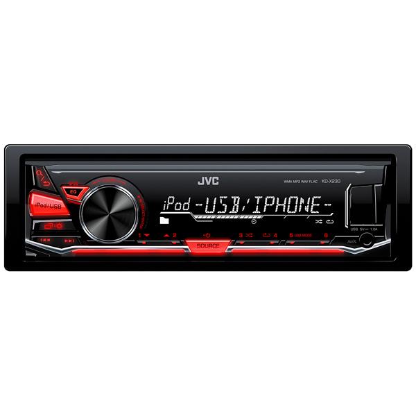 USB-Автомагнитола JVC