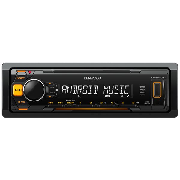 USB-Автомагнитола KenwoodUSB автомагнитолы<br>Макс. выходная мощность: 4 x 50 Вт,<br>Формат аудио: MP3/ FLAC/ WMA/ WAV,<br>Панель управления: съемная,<br>Цифровой тюнер: FM/MW/LW,<br>Размер установочного места: 1 DIN,<br>Выход RCA аудио: 1,<br>Порт USB: 1 х тип А (фронтальный),<br>Фиксированные настройки тюнера: 18 FM/3 MW/3 LW,<br>Разъем ISO: 1,<br>Футляр для съемной панели: доп.опция,<br>Подсветка кнопок: янтарная,<br>Воспр. медиафайлов с цифр.носителей: Да,<br>Кабель USB: доп.опция,<br>Вход 3.5 мм аудио: 1 (фронтальный),<br>Страна: Индонезия,<br>Тип дисплея: текст./символьный<br>