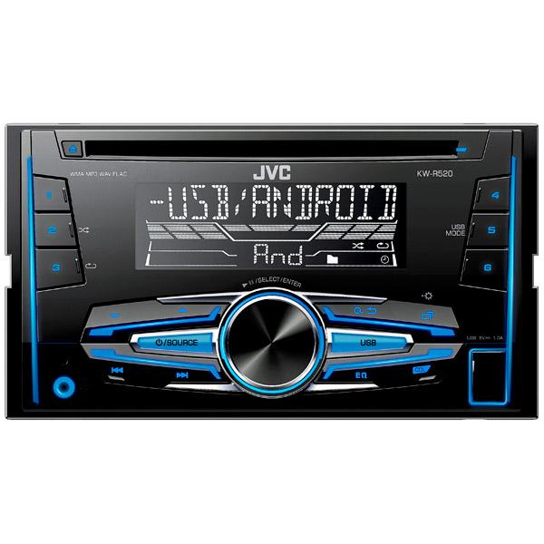 Автомобильная магнитола с CD MP3 JVC KW-R520
