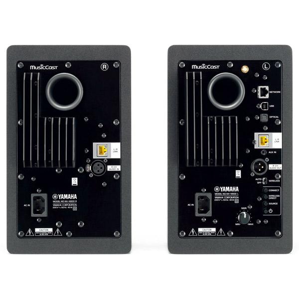 Купить Активные полочные колонки Yamaha NX-N500 Black недорого