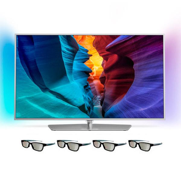 Телевизор PhilipsЖК LED-телевизоры<br>Цифровой ТВ тюнер: DVB-T/T2/C,<br>Тип дистанционного управления: ИК,<br>Высота: 72.6 см,<br>Глубина: 7.9 см,<br>Ширина: 123.9 см,<br>Дистанционное управление: полное,<br>Вход 3.5 мм аудио: 1,<br>Смартфон в качестве пульта ДУ: Да,<br>Вход HDMI: 4,<br>Цвет: серебр./белый,<br>Диагональ экрана: 55(139.6 см),<br>Sleep-таймер: Да,<br>Аналоговый ТВ тюнер: PAL/SECAM,<br>Телетекст на русском языке: Да,<br>Воспроизведение MPEG4: Да,<br>Звук: Incredible Surround,<br>Вид гарантии: гарантийный талон,<br>Формат экрана: 16:9,<br>Технология: 800 Гц<br><br>Вес кг: 18.5<br>Ширина см: 123.9<br>Глубина см: 7.9<br>Высота см: 72.6<br>Цвет : серебр./белый