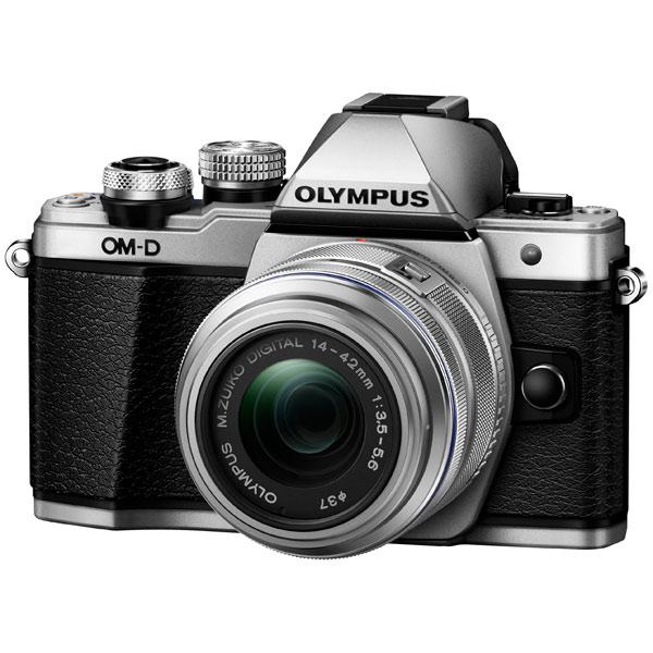 Фотоаппарат системный Olympus E-M10 Mark II Silver + 14-42 II R Silver