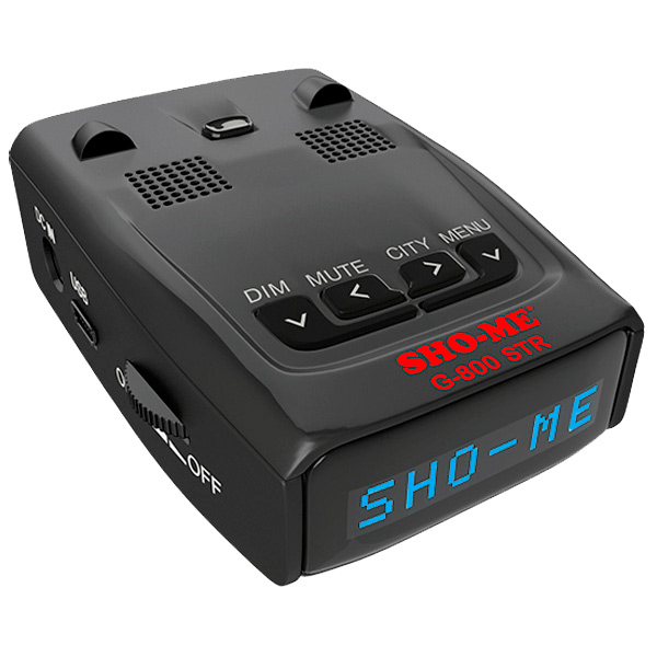 Автомобильный радар Sho-Me G-800 Blue