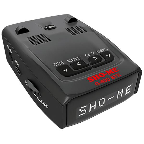 Автомобильный радар Sho-Me G-800 White