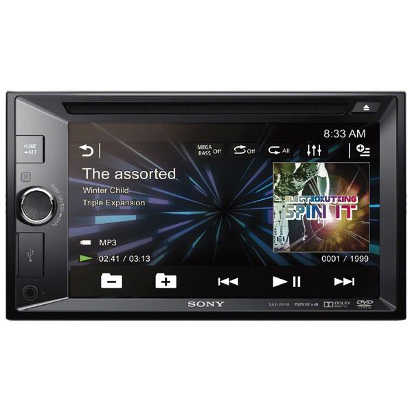 Автомобильная магнитола с DVD + монитор Sony