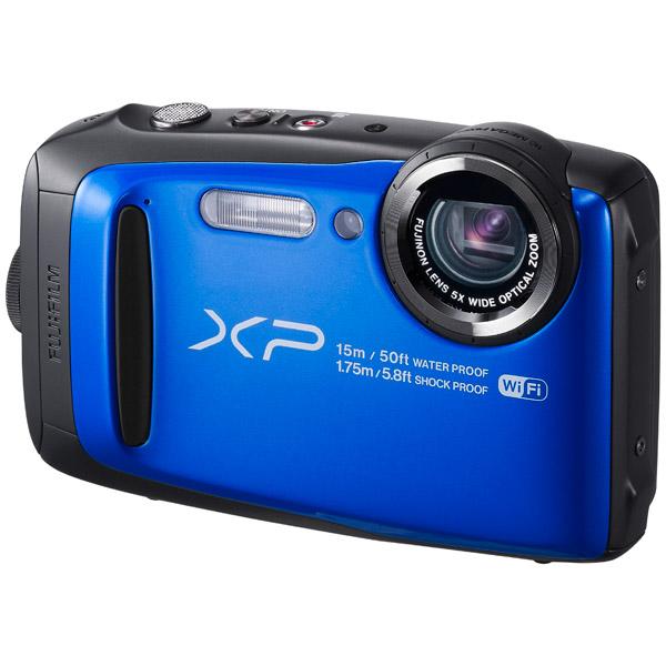 Фотоаппарат компактный Fujifilm FinePix XP90 Blue fujifilm finepix xp120 голубой