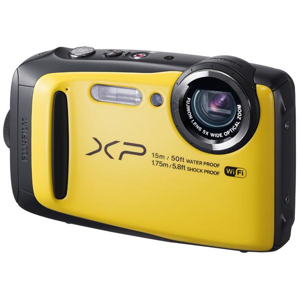 Фотоаппарат компактный Fujifilm FinePix XP90 Yellow fujifilm finepix xp120 голубой