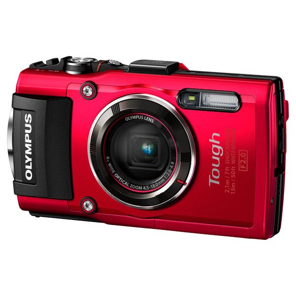 Купить Фотоаппарат компактный Olympus TG-4 Red