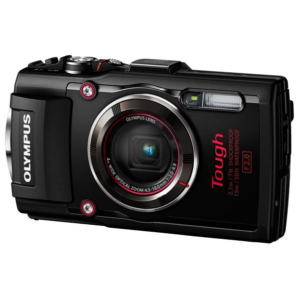 Купить Фотоаппарат компактный Olympus TG-4 Black