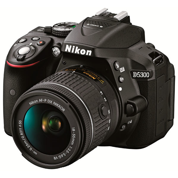 Фотоаппарат зеркальный Nikon D5300 Kit 18-55 AF-P Black