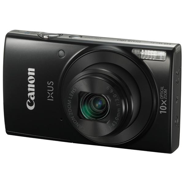Фотоаппарат компактный Canon IXUS 180 Black