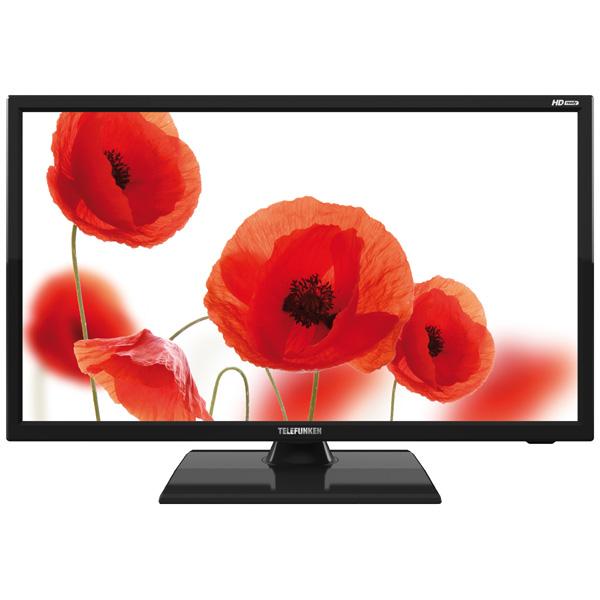 Телевизор TelefunkenЖК LED-телевизоры<br>Вход RCA аудио/видео: 1,<br>Телетекст на русском языке: Да,<br>Цифровое шумоподавление: Да,<br>Разрешение экрана: 1366x768 Пикс (HD Ready),<br>Диагональ экрана: 47 см,<br>Вид гарантии: гарантийный талон,<br>Воспроизведение JPEG: Да,<br>Формат экрана: 16:9,<br>Вход RCA компонентный YPbPr : 1,<br>Воспроизведение MP3: Да,<br>Диагональ экрана: 18.5(47 см),<br>Защита от детей: Да,<br>Вес: 2,7 кг,<br>Мощность фронтальных АС: 2 x 3 Вт,<br>Вход 3.5 мм аудио: 1,<br>Воспр. медиа с USB: Да,<br>Тип батарей пульта ДУ: 1 х AAA (LR03),<br>Серия: S30<br>