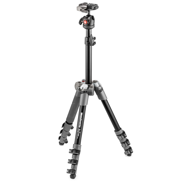Manfrotto Befree One Aluminium Gray (MKBFR1A4D-BH)