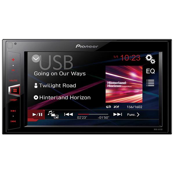 USB-Автомагнитола c встроенным монитором Pioneer