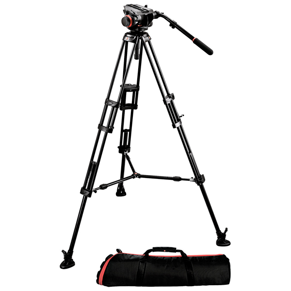 Штатив для видео Manfrotto 546BK + 504HD