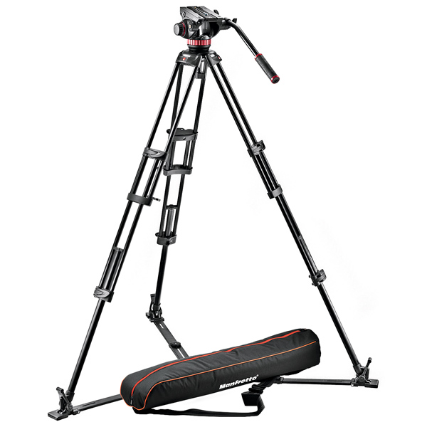 Штатив для видео Manfrotto 546GB-1 + MVH502A