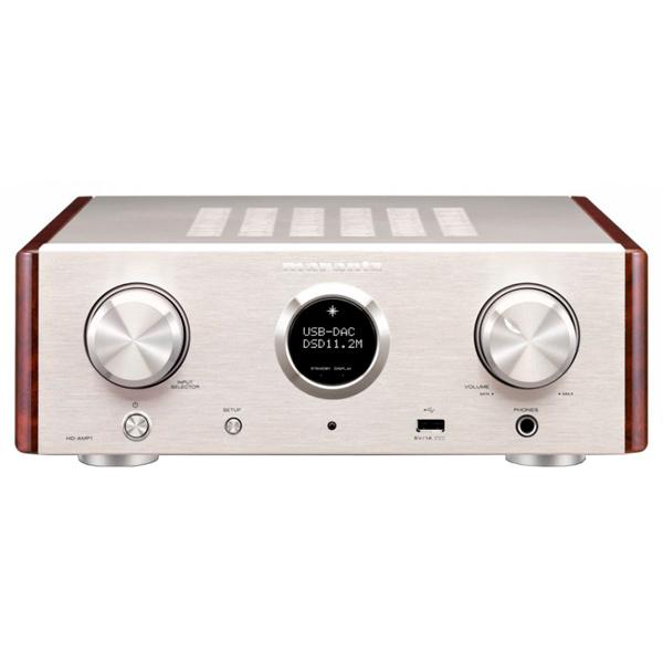 Усилитель MarantzУсилители<br>Кабель питания 220 В: съемный,<br>Вход коаксиальный цифровой: 1,<br>Каналов усиления: 2 каналов,<br>Частотный диапазон: 2 Гц - 50 кГц,<br>Вид гарантии: по чеку,<br>Функция USB DAC: Да,<br>Общие гармонич. искажения: 0.05 %,<br>Соотношение сигнал/шум: 105 дБ,<br>Каскад усиления: транзисторный,<br>Вход RCA аудио: 2,<br>Страна: КНР,<br>Номинальная мощность (4 Ом): 70 Вт/канал,<br>Разъем для фронт АС: Да,<br>Номинальная мощность (8 Ом): 35 Вт/канал,<br>Потребляемая мощность: 55 Вт,<br>Выход 3.5 мм управляющий ИК: 1,<br>Вход 3.5 мм управляющий ИК: 1<br><br>Ширина см: 31<br>Вес кг: 5.8<br>Глубина см: 36<br>Высота см: 11<br>Цвет : серебр./золотистый
