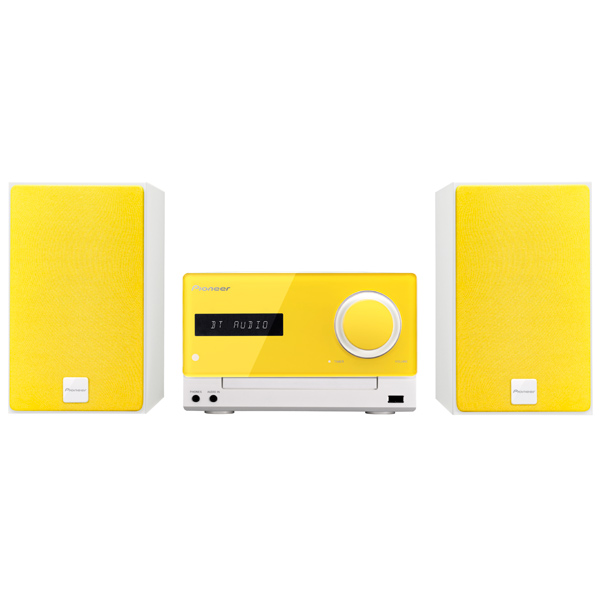 Музыкальный центр Micro Pioneer X-CM35-Y Lemon Yellow