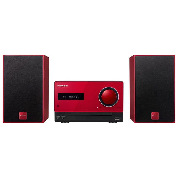Музыкальный центр Micro Pioneer X-CM35-R Red