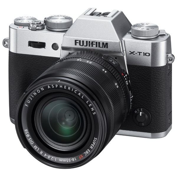Fujifilm X-T10 18-55 Kit Silver fujifilm x t2 body black