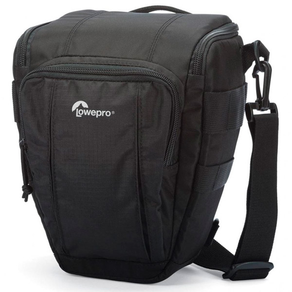 Сумка для DSLR камер Lowepro Toploader Zoom 50 AW II Black