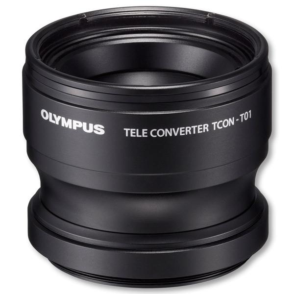 Премиальный фотоаксессуар Olympus Телеконвертер TCON-T01 для TG-1, TG-2, TG-3, TG-4