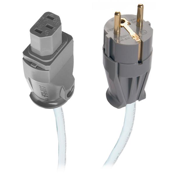 Кабель Hi-Fi сетевой Supra LoRad 1.5 СS -EU 2м кабель сетевой готовый supra lorad cs eu 3x1 5 1 5 m