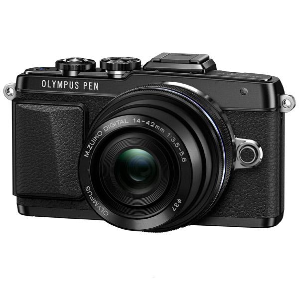 Фотоаппарат системный Olympus E-PL7 Pancake Zoom Kit Black фотоаппарат olympus om d e m5