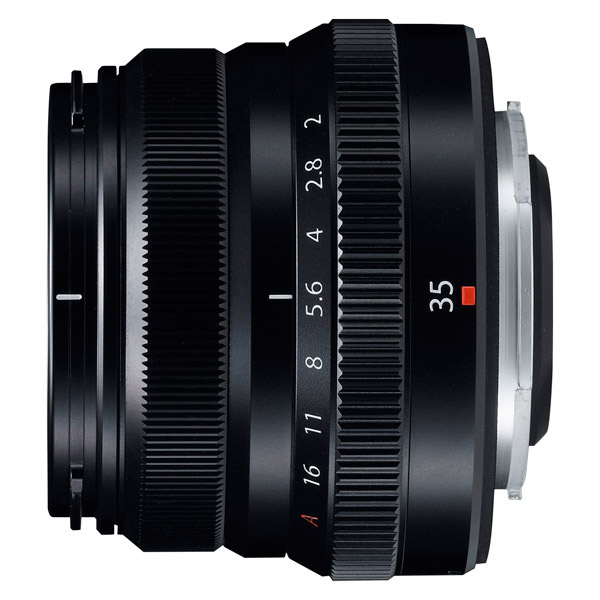 Fujifilm XF35mm F2 R WR Black