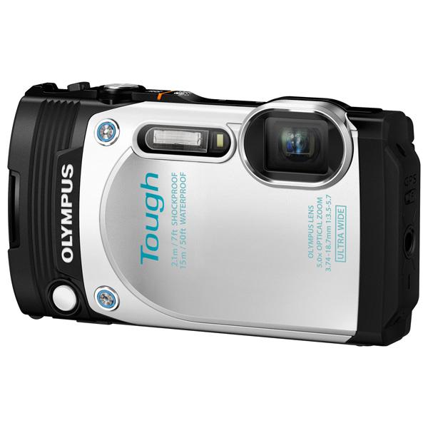 Купить Фотоаппарат компактный Olympus TG-870 White