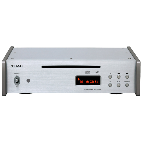 CD-плеер Teac PD-501HR Silver cd проигрыватель teac pd 301 silver