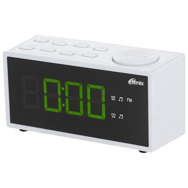 Радио-часы Ritmix RRC-1212 White