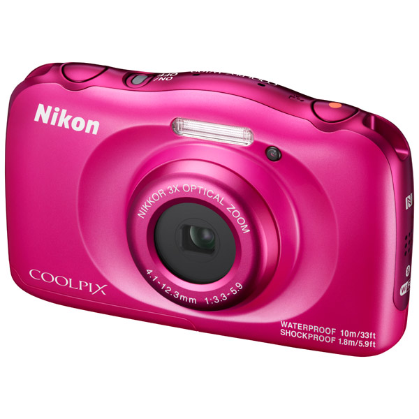 ����������� ���������� Nikon Coolpix W100 Pink Backpack kit