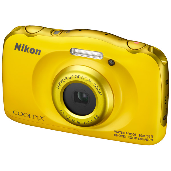 ����������� ���������� Nikon Coolpix W100 Yellow Backpack kit