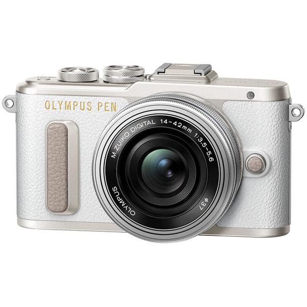 Фотоаппарат системный Olympus E-PL8 white + 14-42 EZ silver