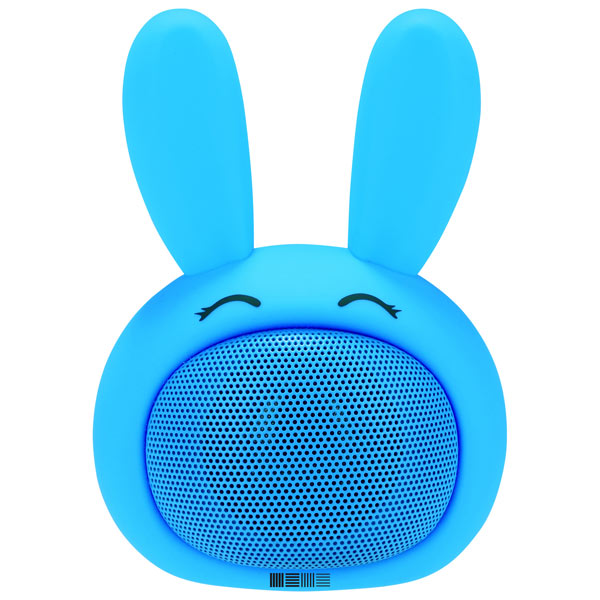 Беспроводная акустика InterStep SBS-150 FunnyBunny Blue (IS-LS-SBS150BLU-000B201) беспроводная акустика interstep sbs 150 funnybunny lime is ls sbs150gre 000b201