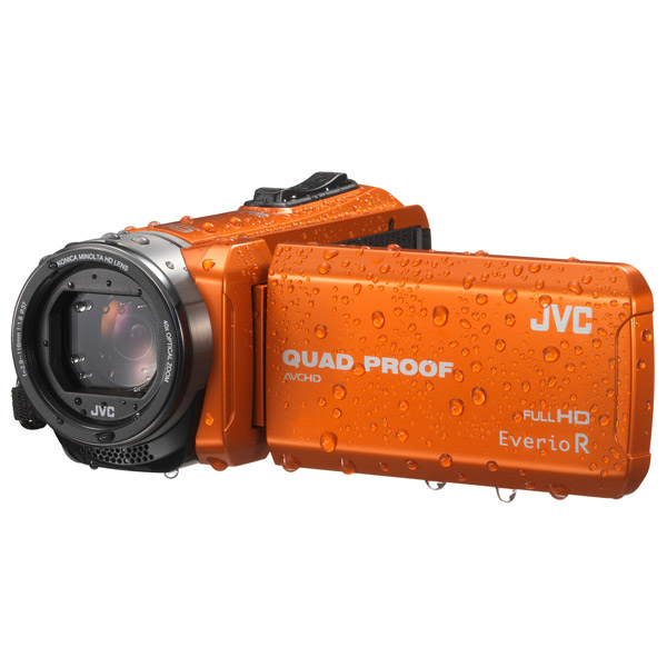 Видеокамера Flash HD JVC GZ-R415DE