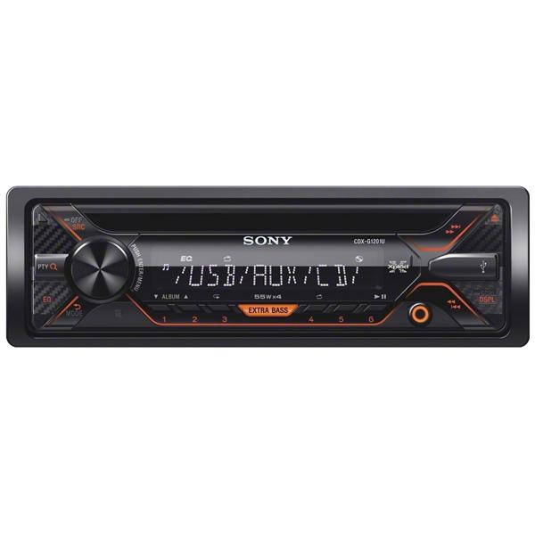 Автомобильная магнитола с CD MP3 Sony CDX-G1201U/Q