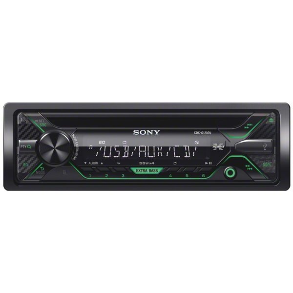 Автомобильная магнитола с CD MP3 Sony CDX-G1202U/Q