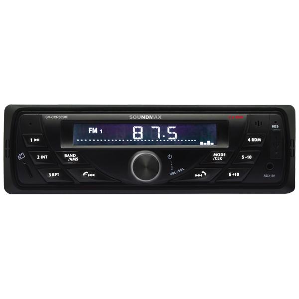 USB-Автомагнитола Soundmax SM-CCR3058F