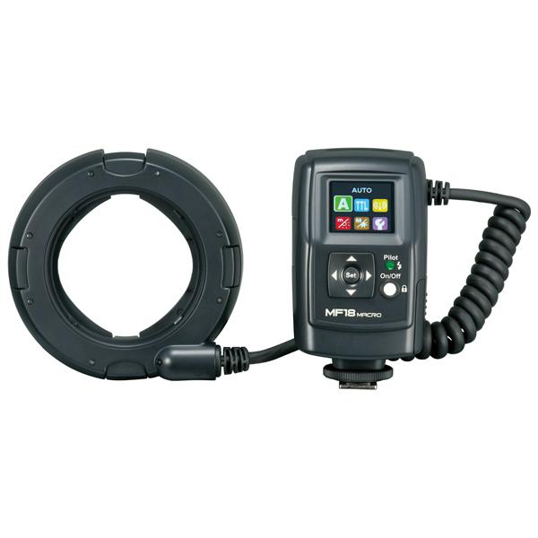 Nissin, Фотовспышка, MF18C Macro Ring Flash Canon