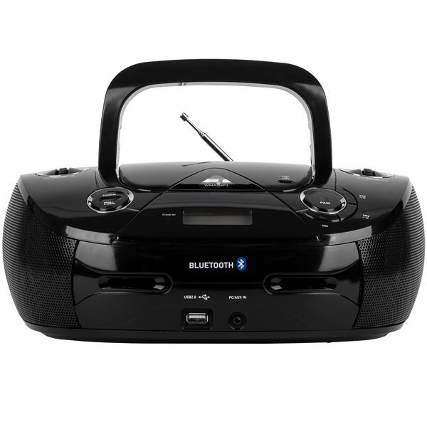 Магнитола BBK BX318BT Black изображение